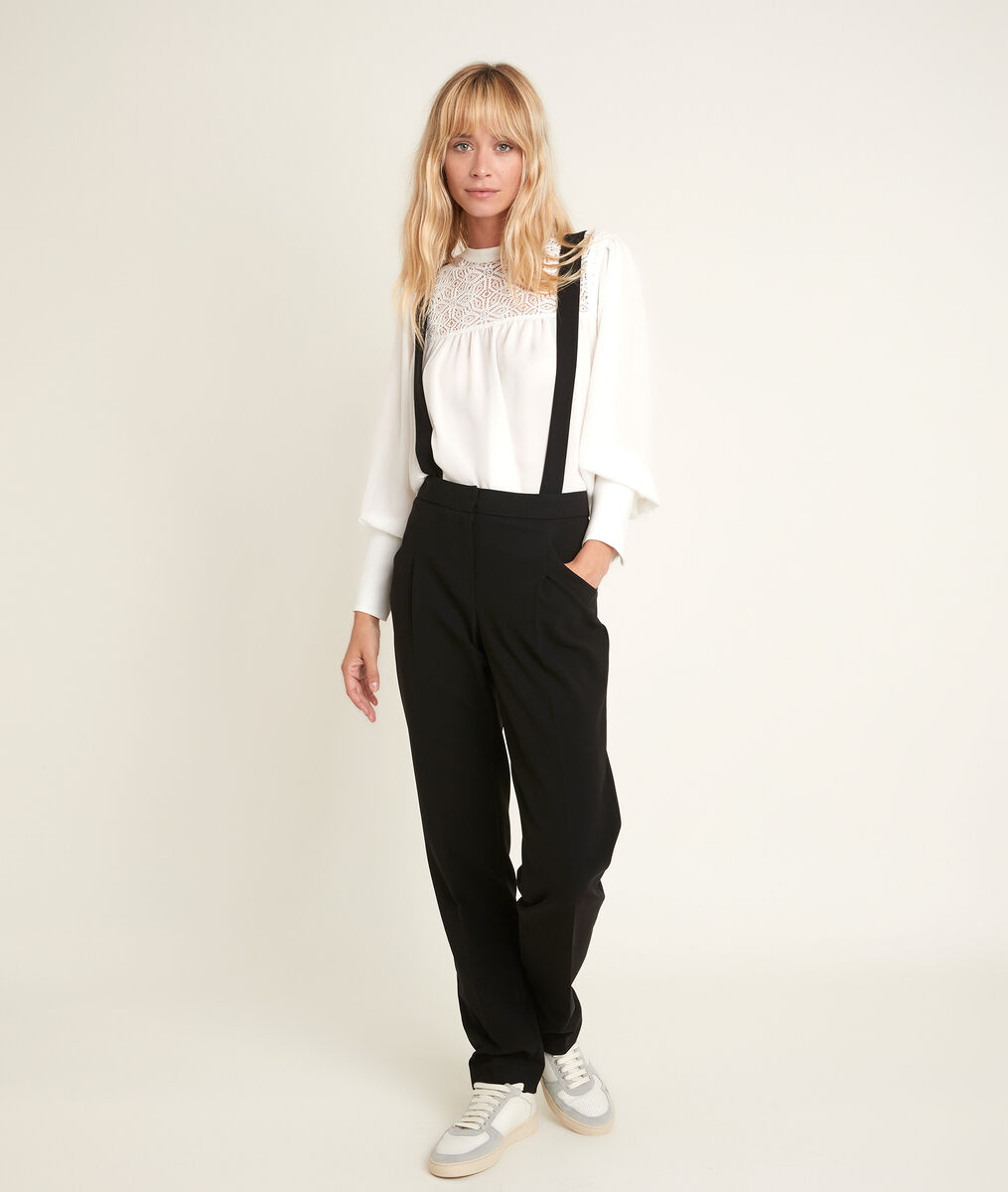 Perroquet microfibre trousers with braces PhotoZ   1-2-3
