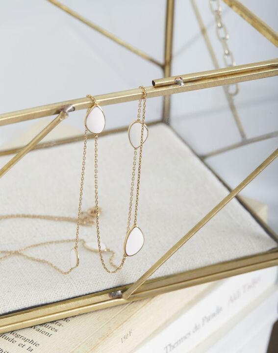 Tamara long gold necklace PhotoZ | 1-2-3