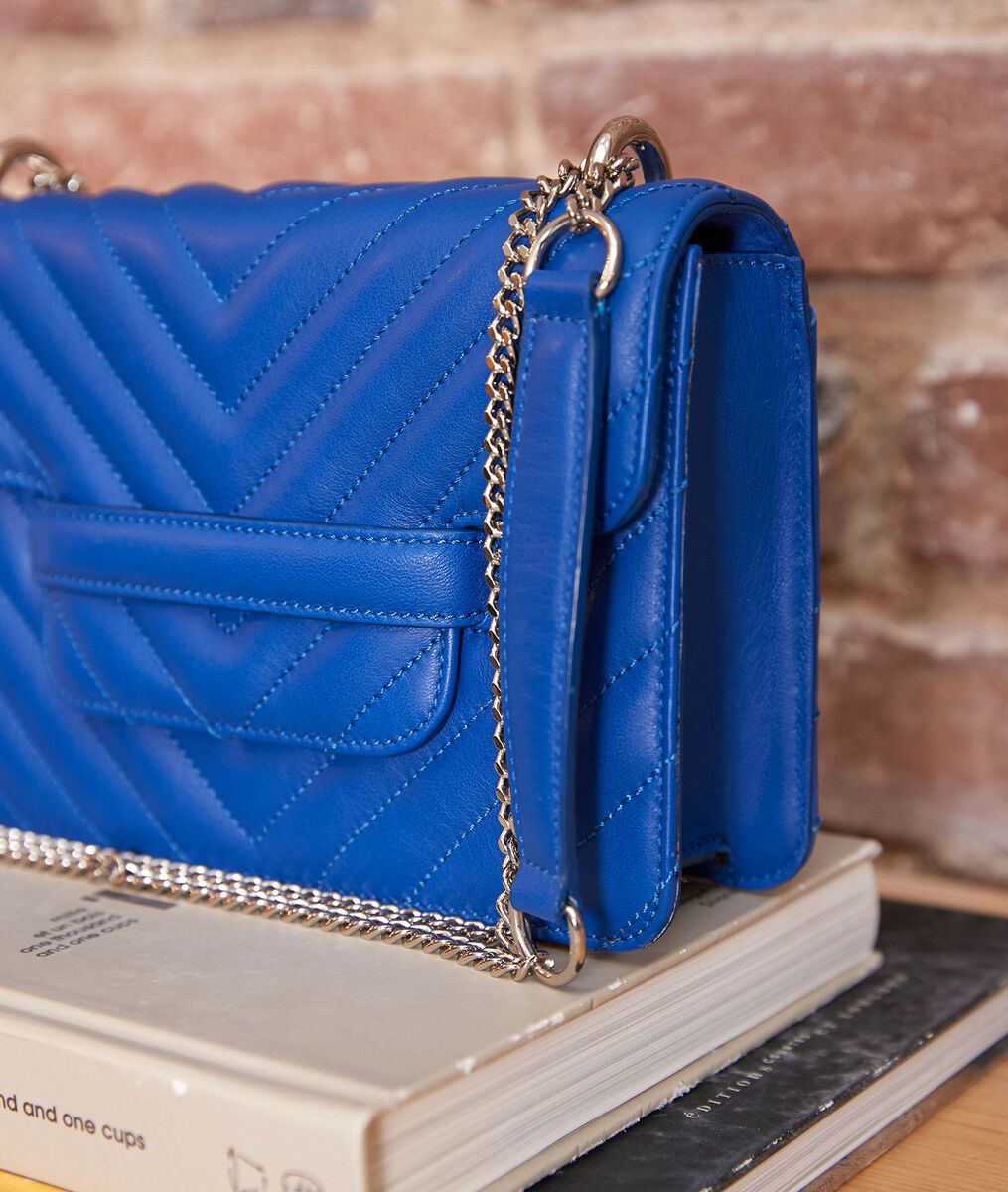 Mini 123 Klein blue quilted bag PhotoZ   1-2-3