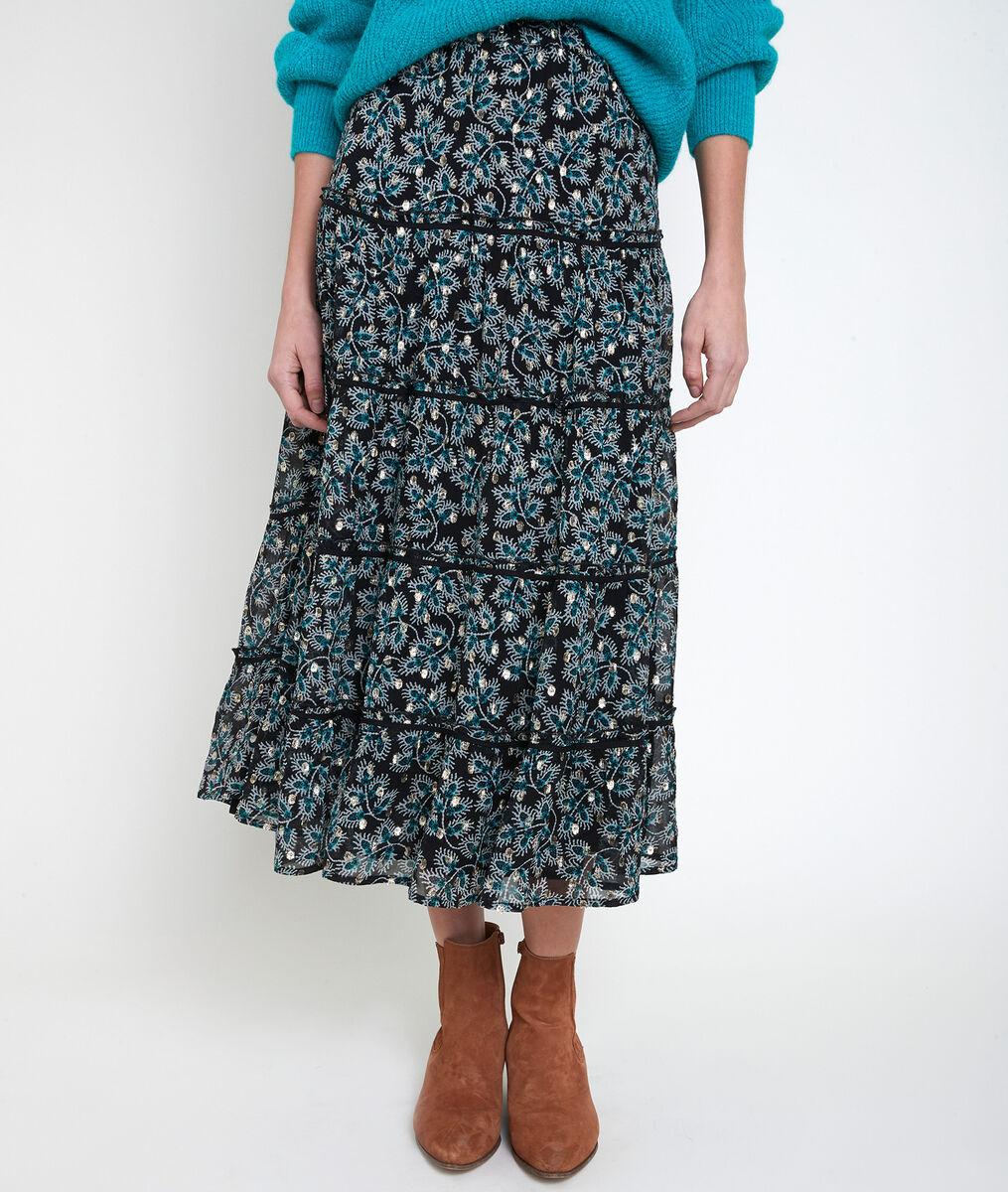 Edita printed maxi dress PhotoZ | 1-2-3