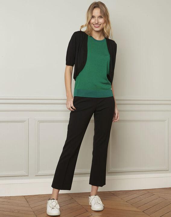 Gaston flared black trousers (2) - Maison 123
