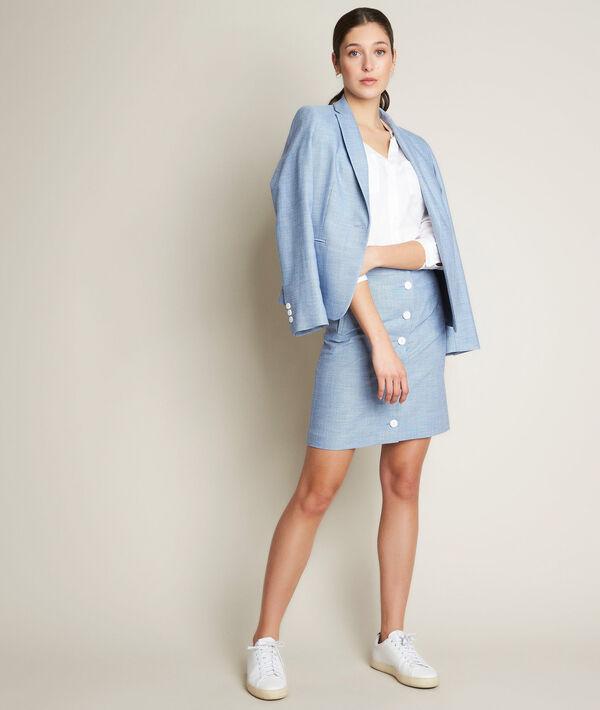 Babeth buttoned skirt PhotoZ | 1-2-3