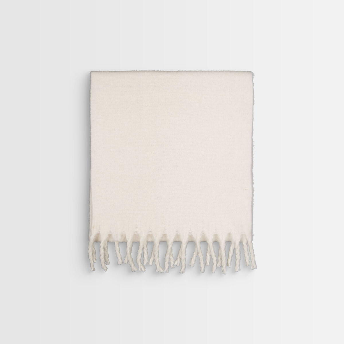 Hama thick chalk-coloured scarf  PhotoZ | 1-2-3