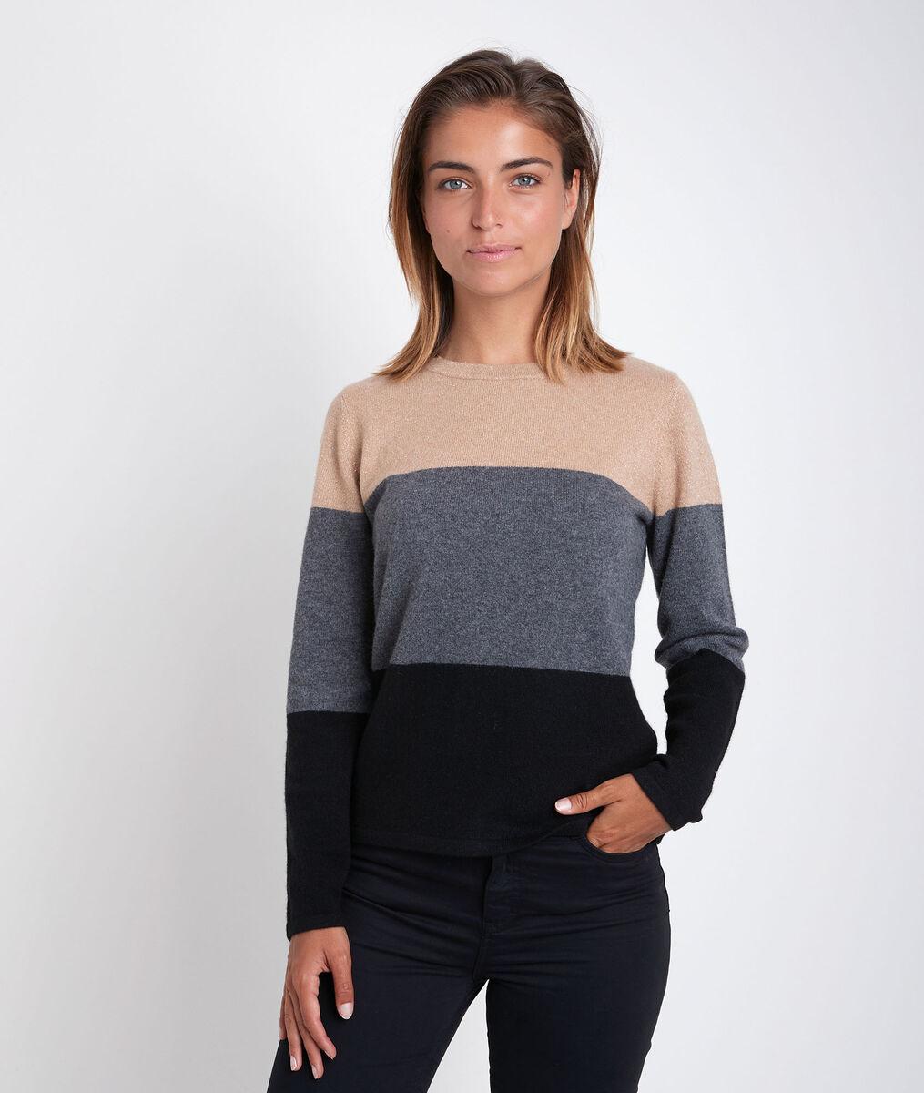 Ramon striped cashmere pullover PhotoZ   1-2-3