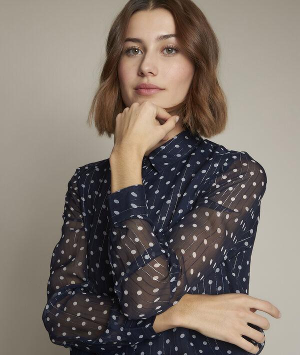 Evita polka dot blouse PhotoZ | 1-2-3