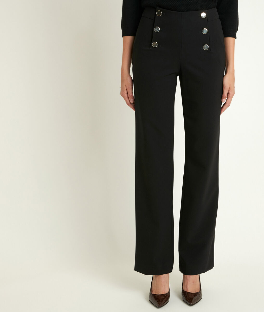 Hubert microfibre sailor trousers PhotoZ | 1-2-3