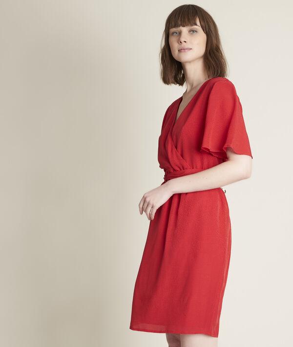 Carly jacquard silk dress  PhotoZ   1-2-3