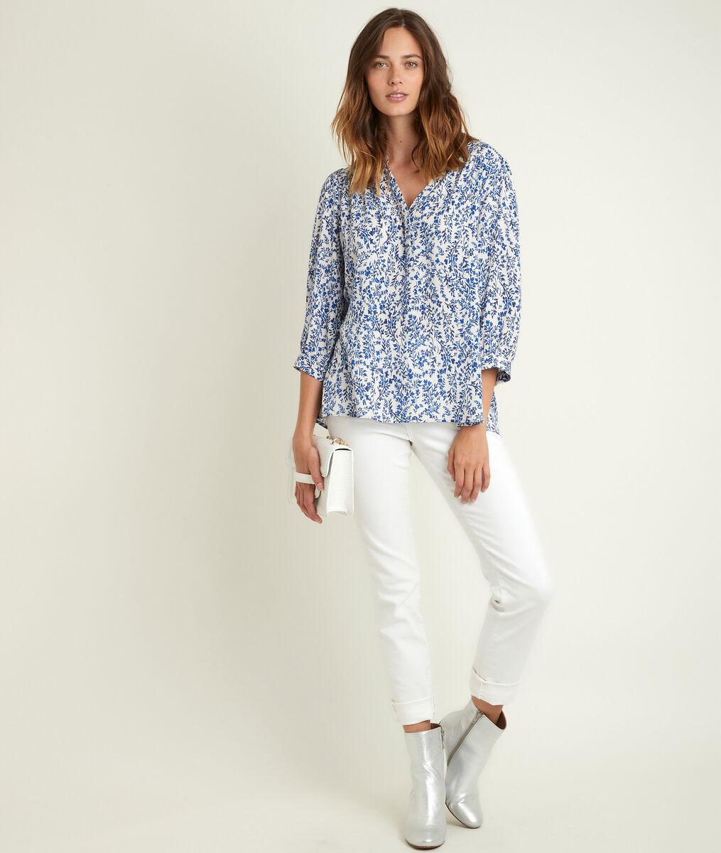 Elsa bis printed blouse PhotoZ | 1-2-3