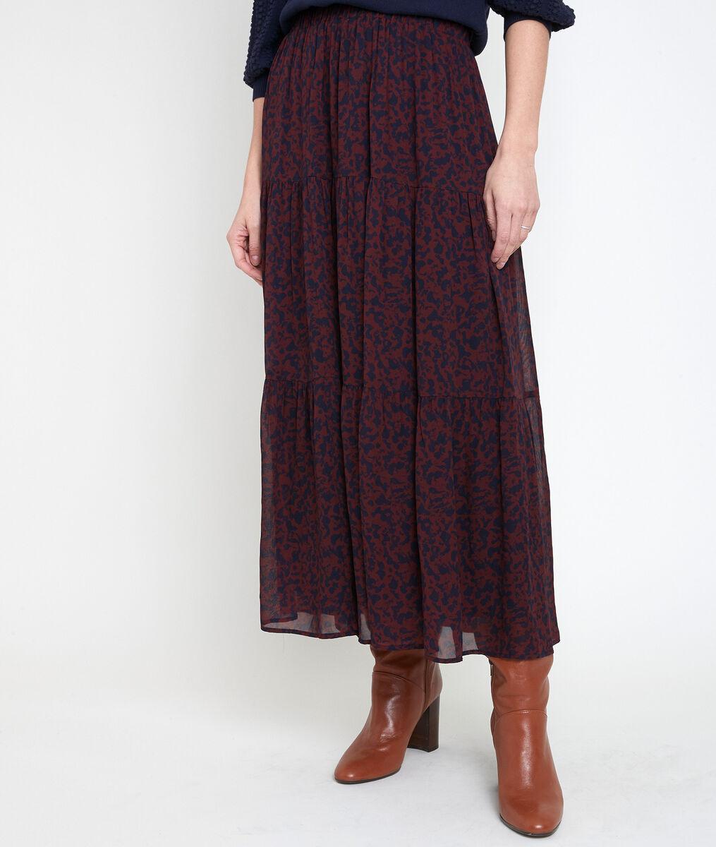 GINKO floral print skirt PhotoZ   1-2-3