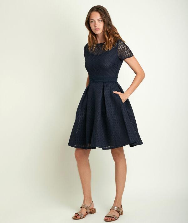 Olympe lace corolla dress PhotoZ | 1-2-3
