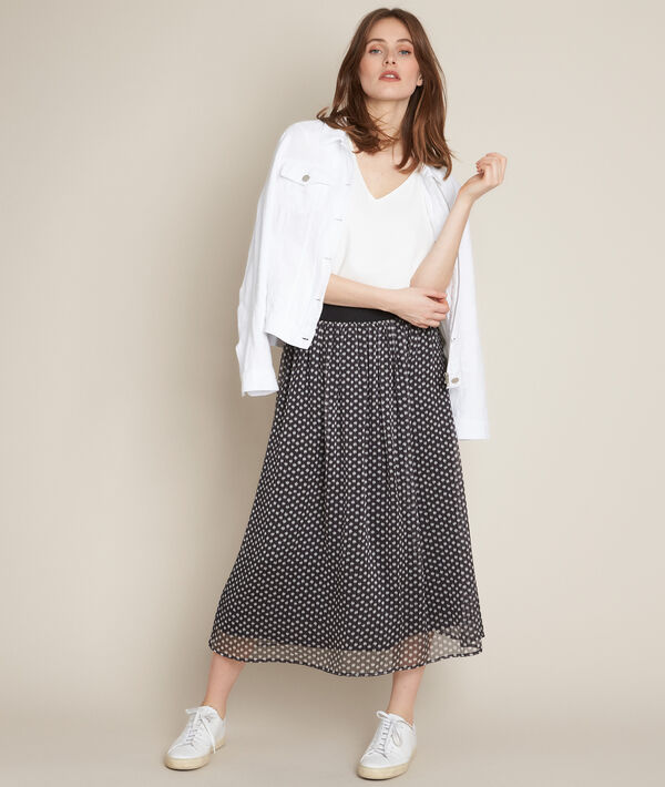 Benny polka dot maxi skirt PhotoZ   1-2-3