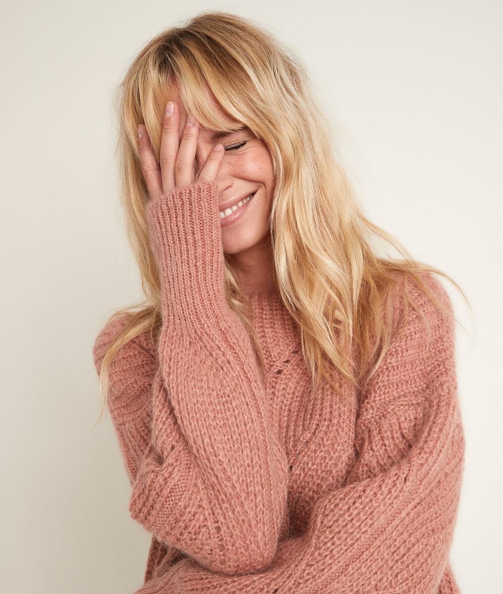 Rain mohair blend pullover PhotoZ | 1-2-3