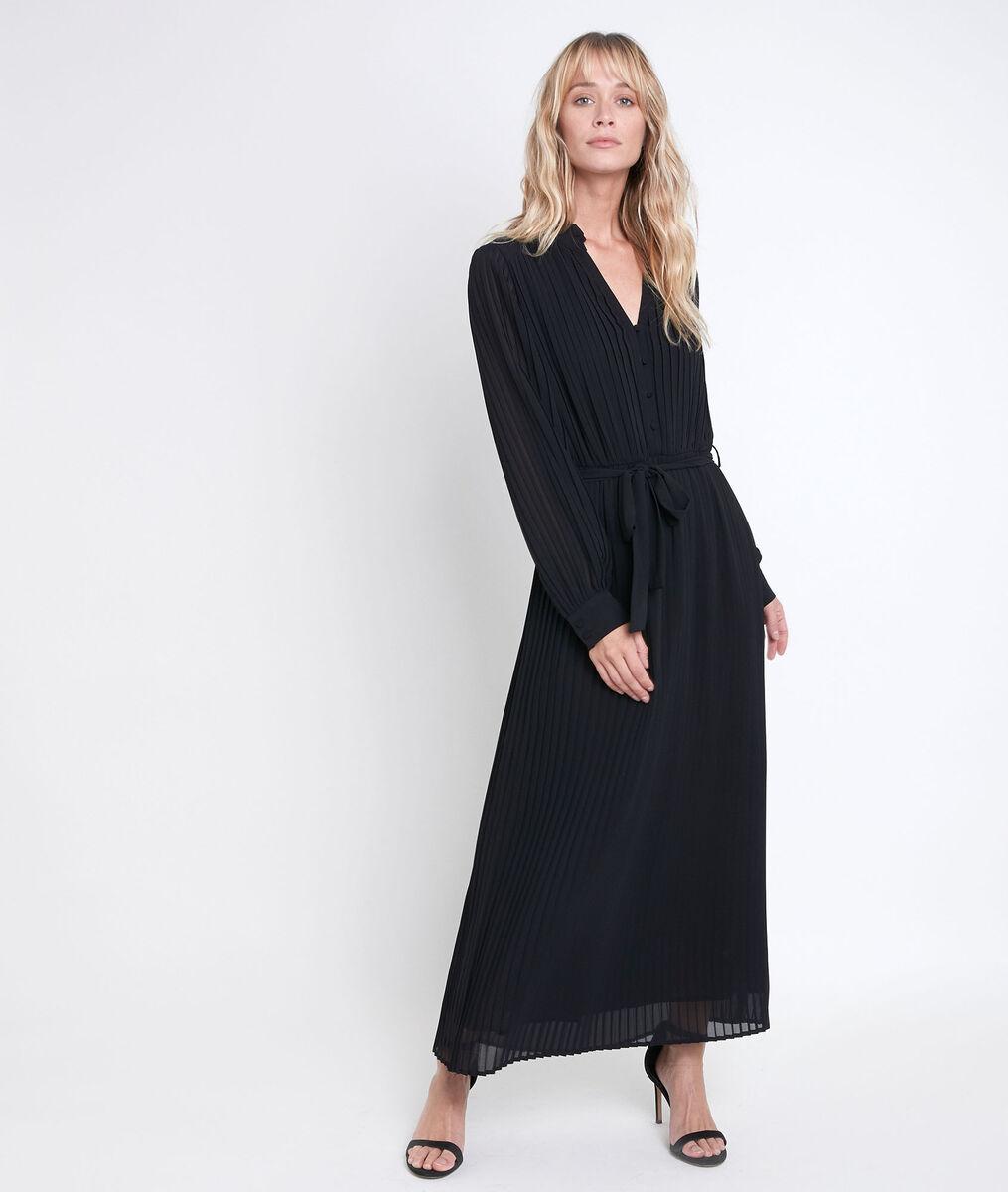 Catarina pleated maxi dress  PhotoZ | 1-2-3