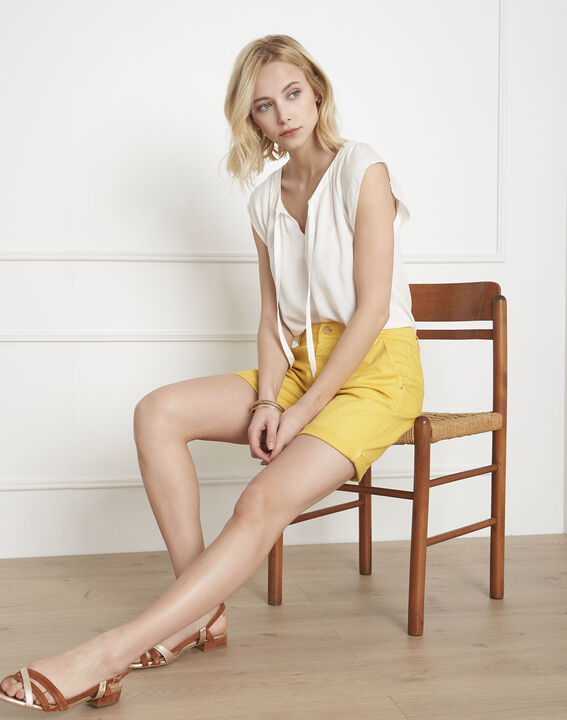 Chopin yellow shorts PhotoZ | 1-2-3