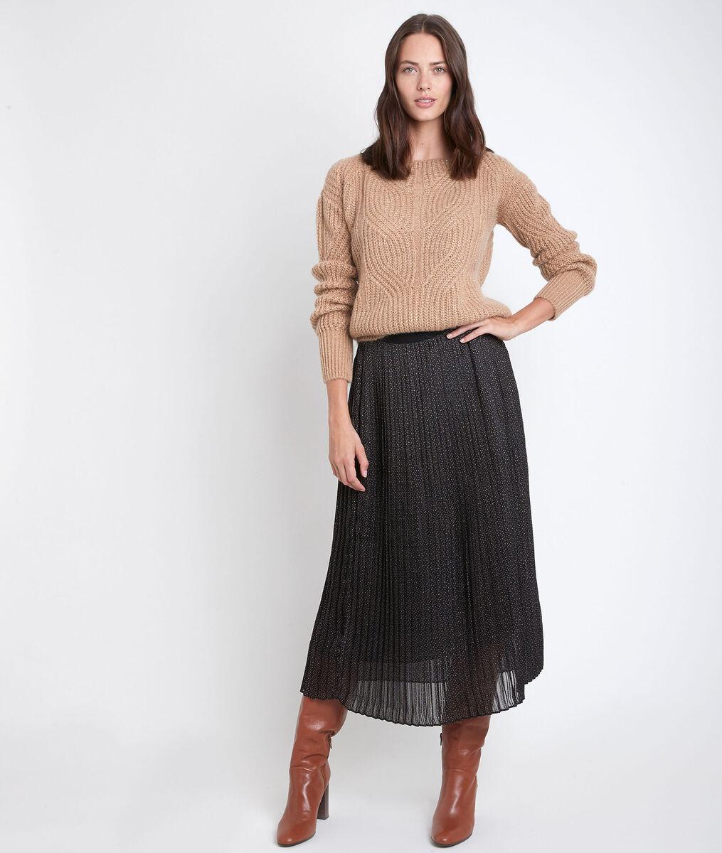 Bulle pleated maxi skirt PhotoZ | 1-2-3