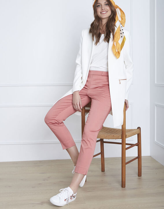 Rubis pink cigarette trousers (1) - Maison 123