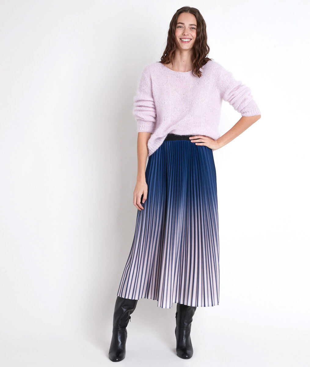 RAMEAU violet mohair blend pullover PhotoZ | 1-2-3