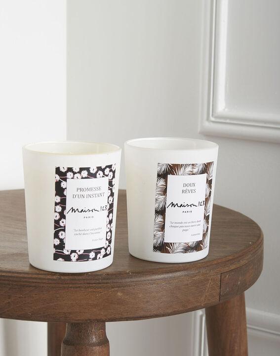 White tea candle PhotoZ   1-2-3
