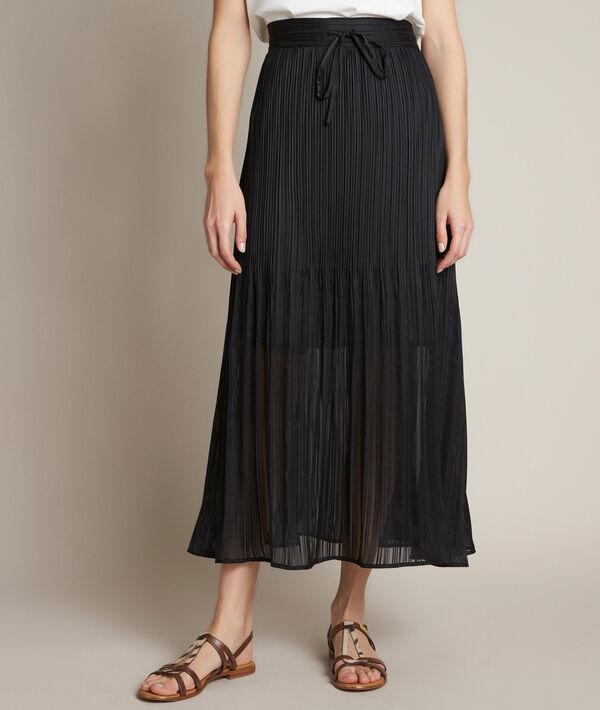 Baltic pleated satin skirt PhotoZ | 1-2-3