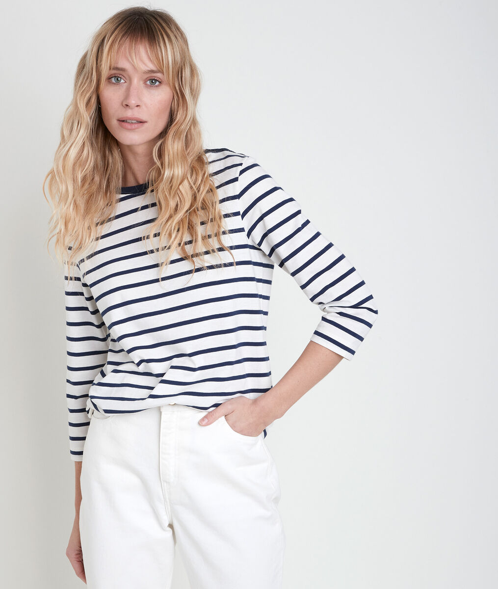 IDYLLE striped top PhotoZ | 1-2-3