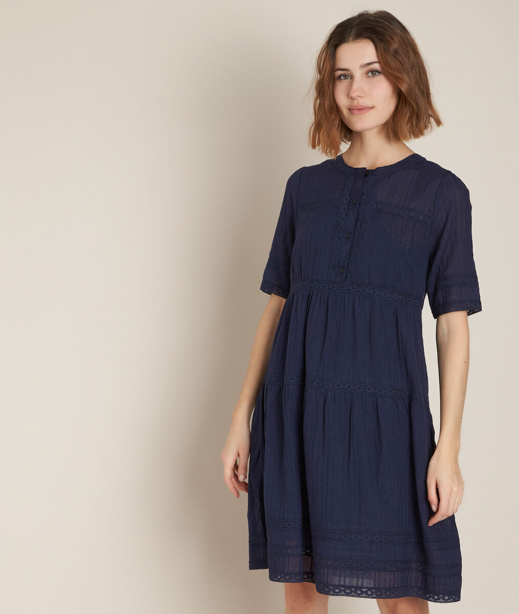 Corelia navy lace dress PhotoZ | 1-2-3