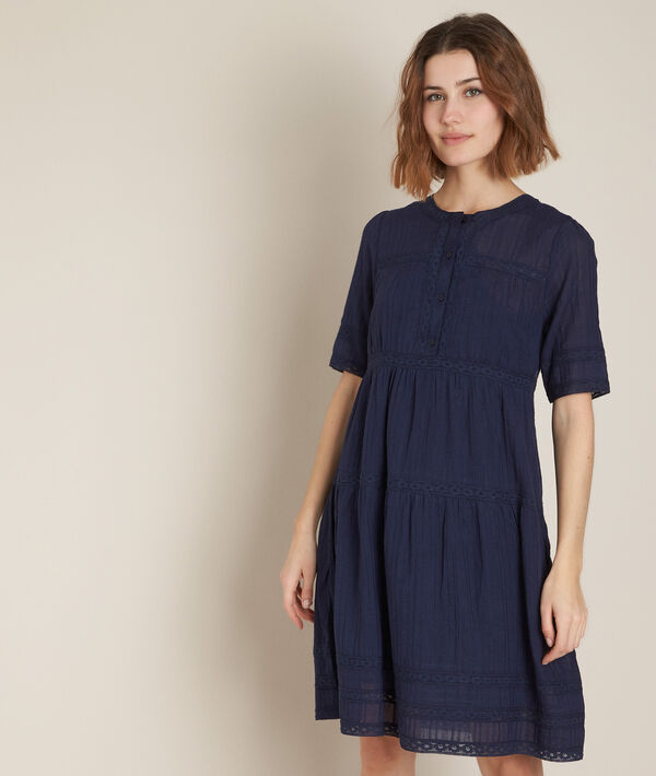 Corelia navy lace dress PhotoZ | 1-2-3