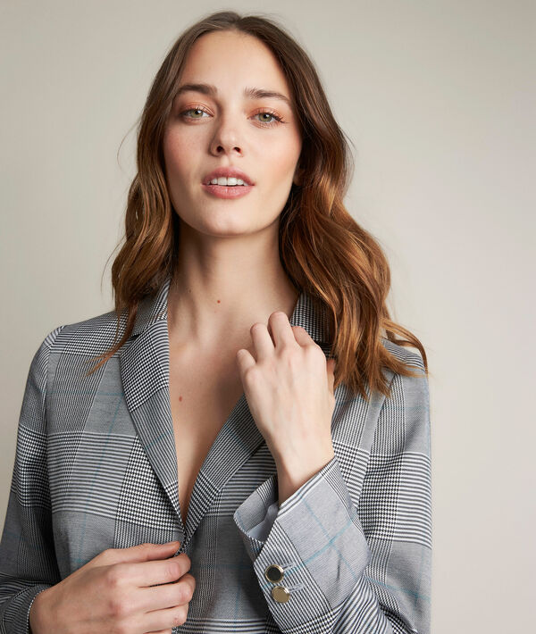 Lena Prince of Wales check tailored jacket PhotoZ | 1-2-3