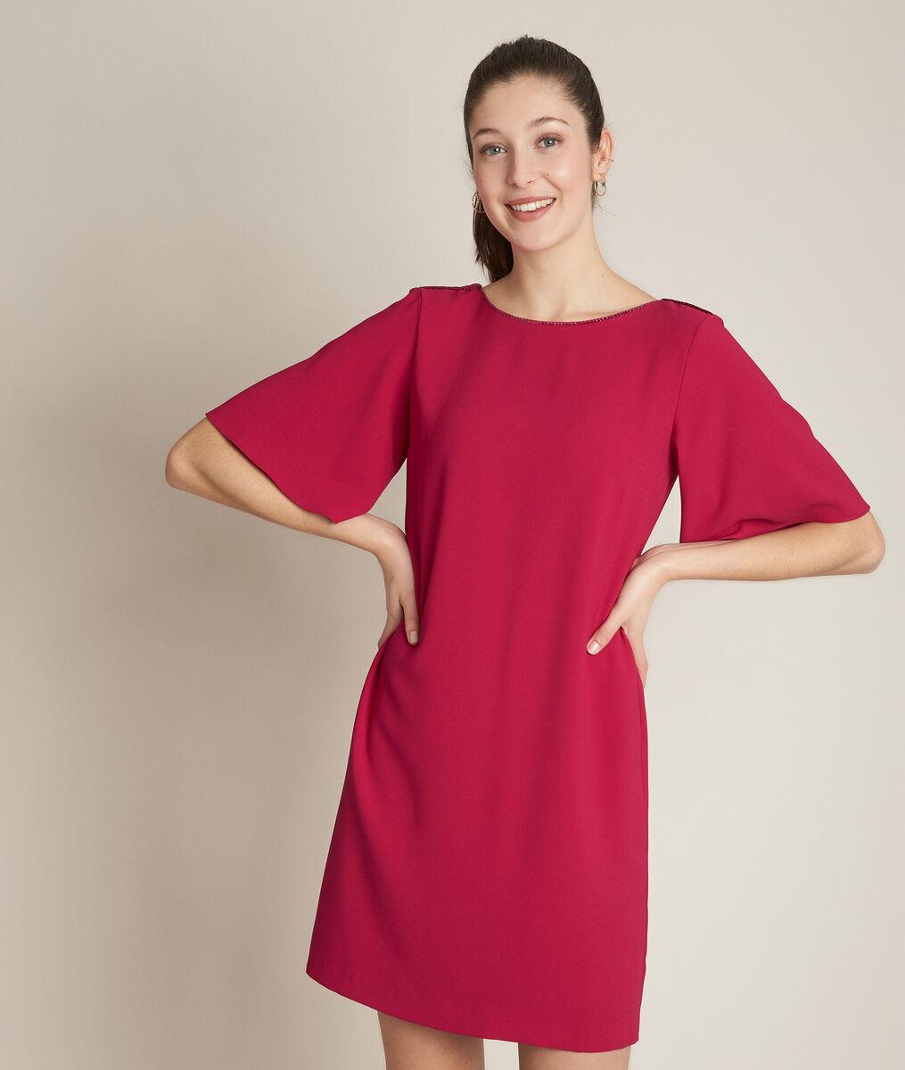 Celia scarlet straight fit dress PhotoZ | 1-2-3
