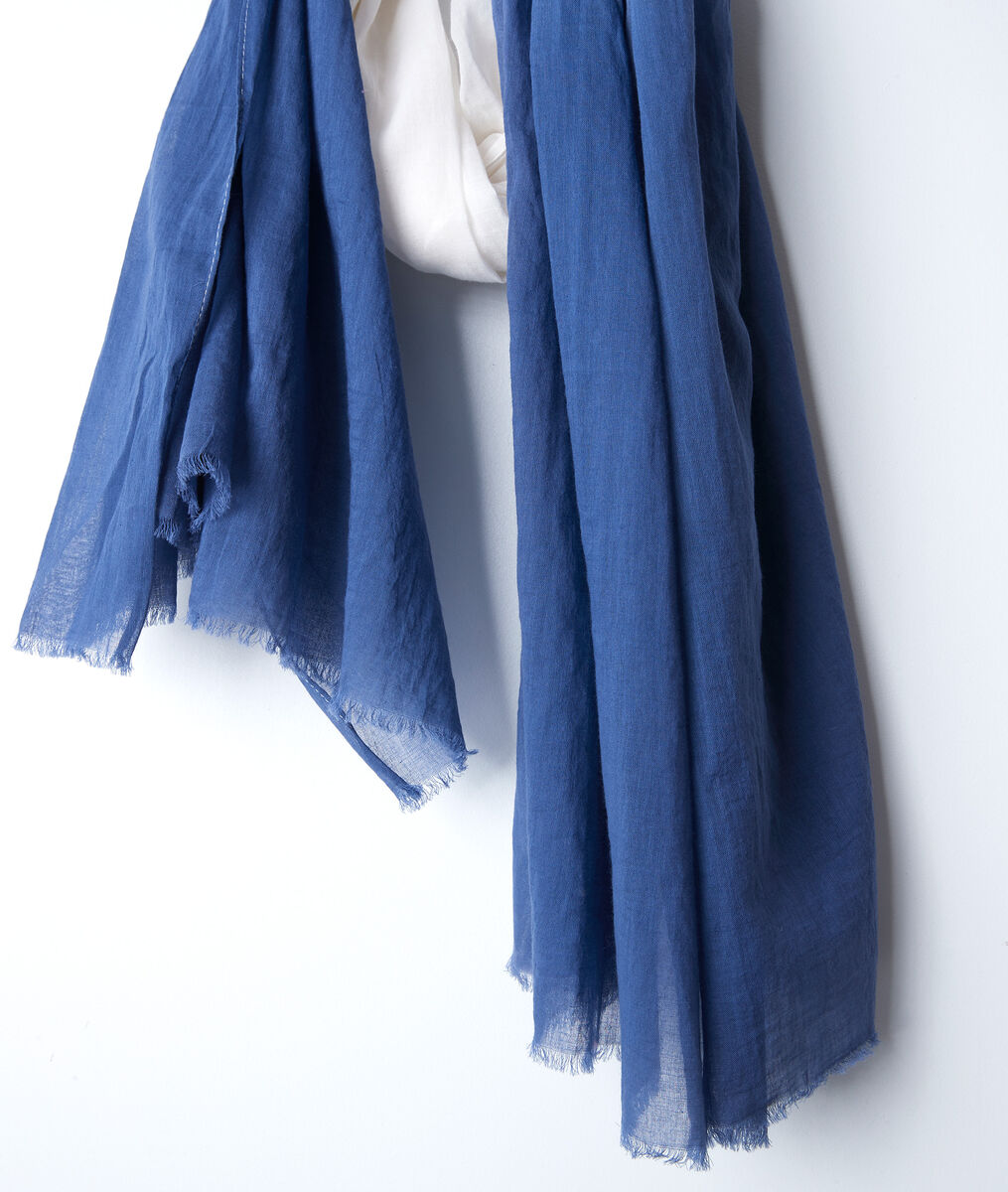Brice tie-dye cotton scarf PhotoZ | 1-2-3