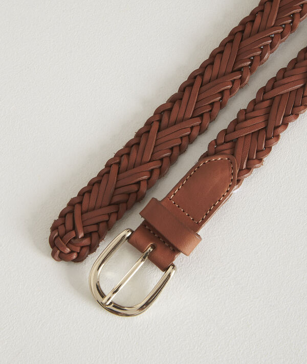 Atresse mahogany braided belt PhotoZ | 1-2-3