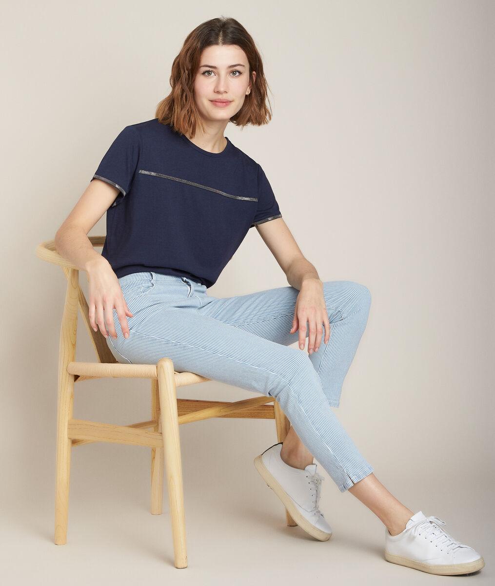 Regal navy T-shirt PhotoZ | 1-2-3