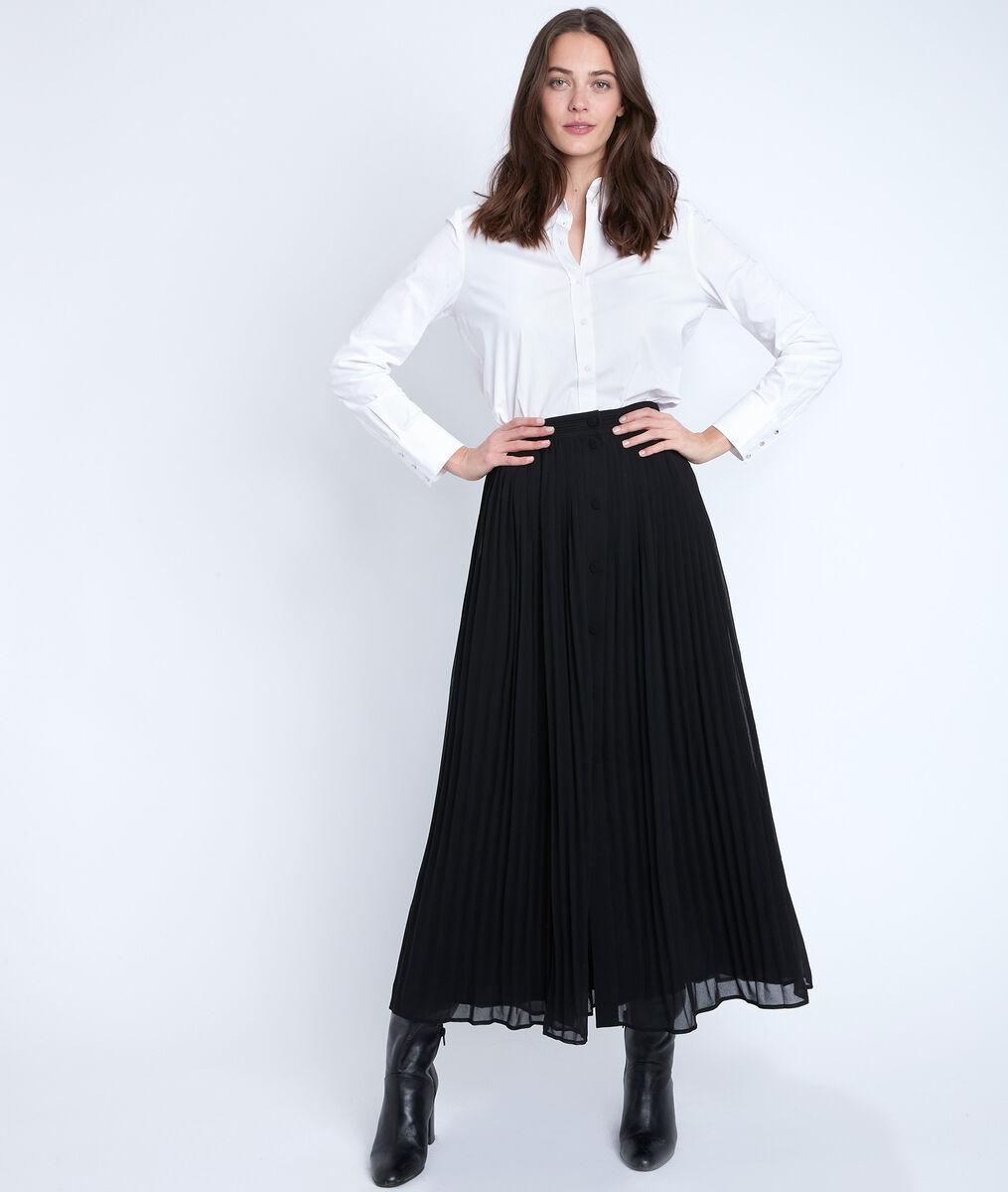 Eva black pleated skirt PhotoZ | 1-2-3