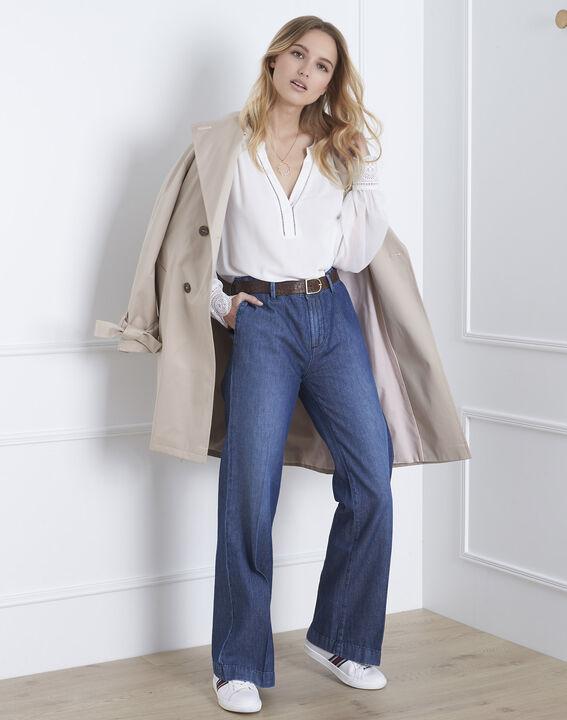 Veronica ecru lace blouse (2) - Maison 123