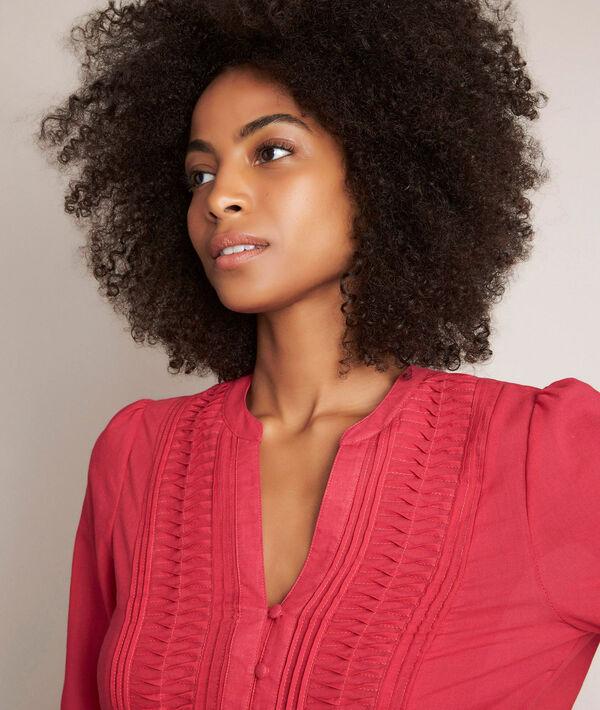 Elodie cotton blouse PhotoZ | 1-2-3