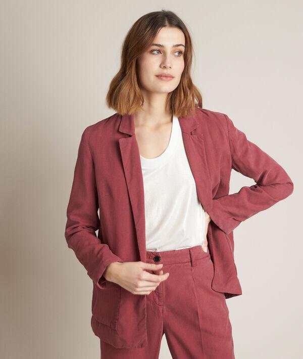 Leone flowing raspberry red jacket PhotoZ | 1-2-3