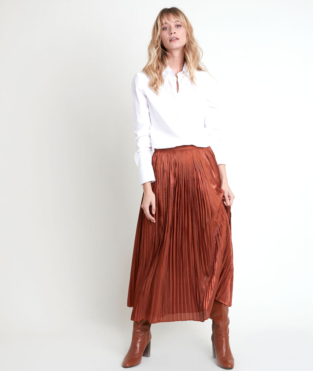 Greta pleated skirt PhotoZ | 1-2-3