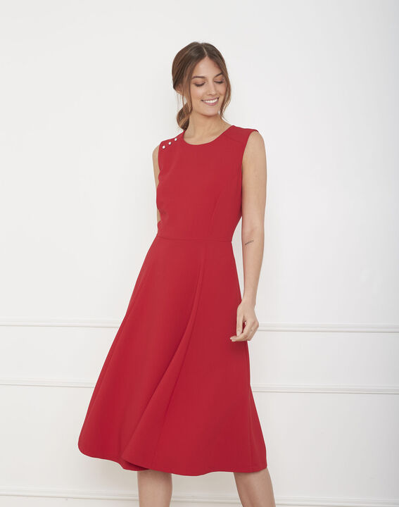 Hacena red dance dress (1) - Maison 123