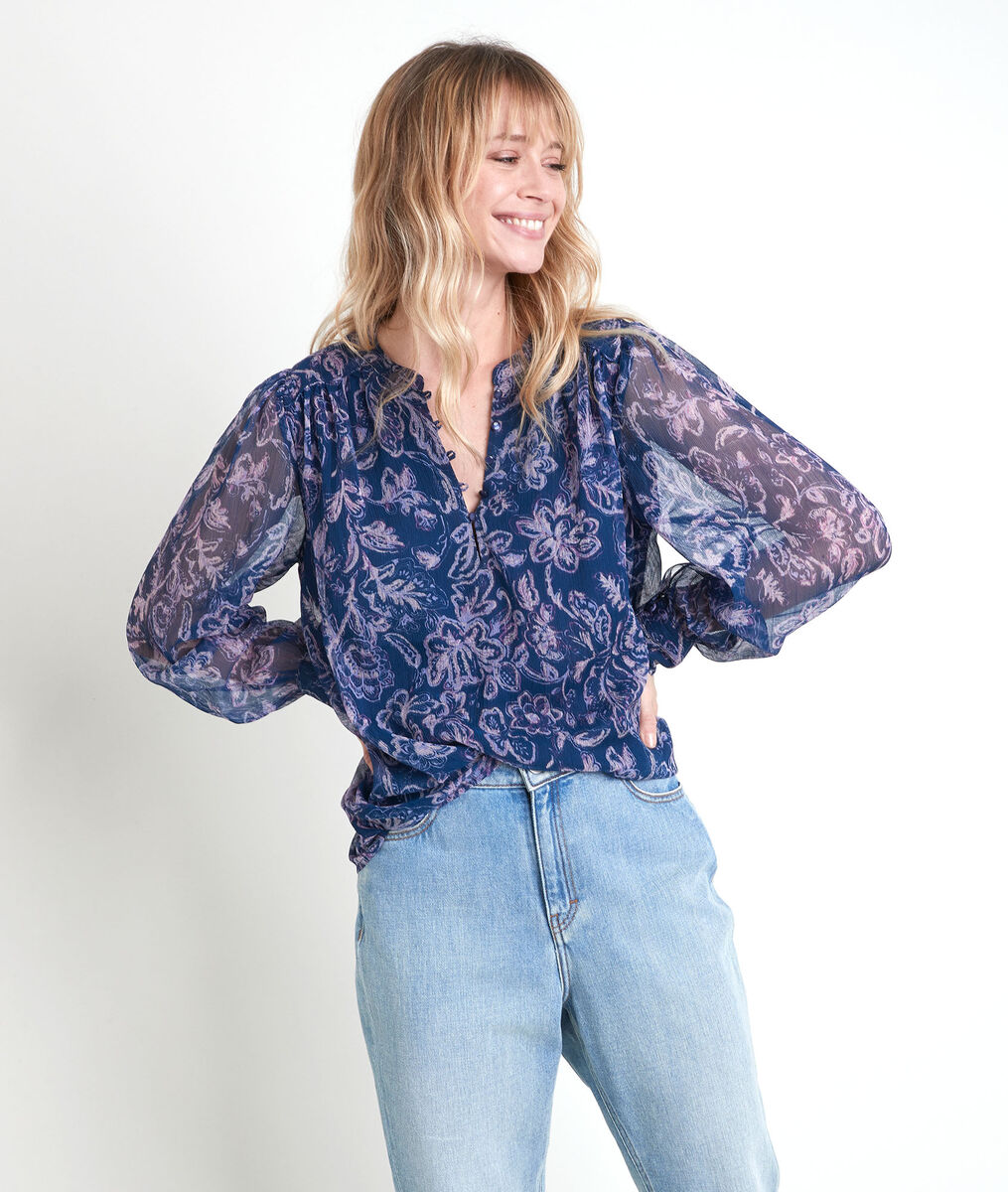 Tunon floral print blouse PhotoZ | 1-2-3