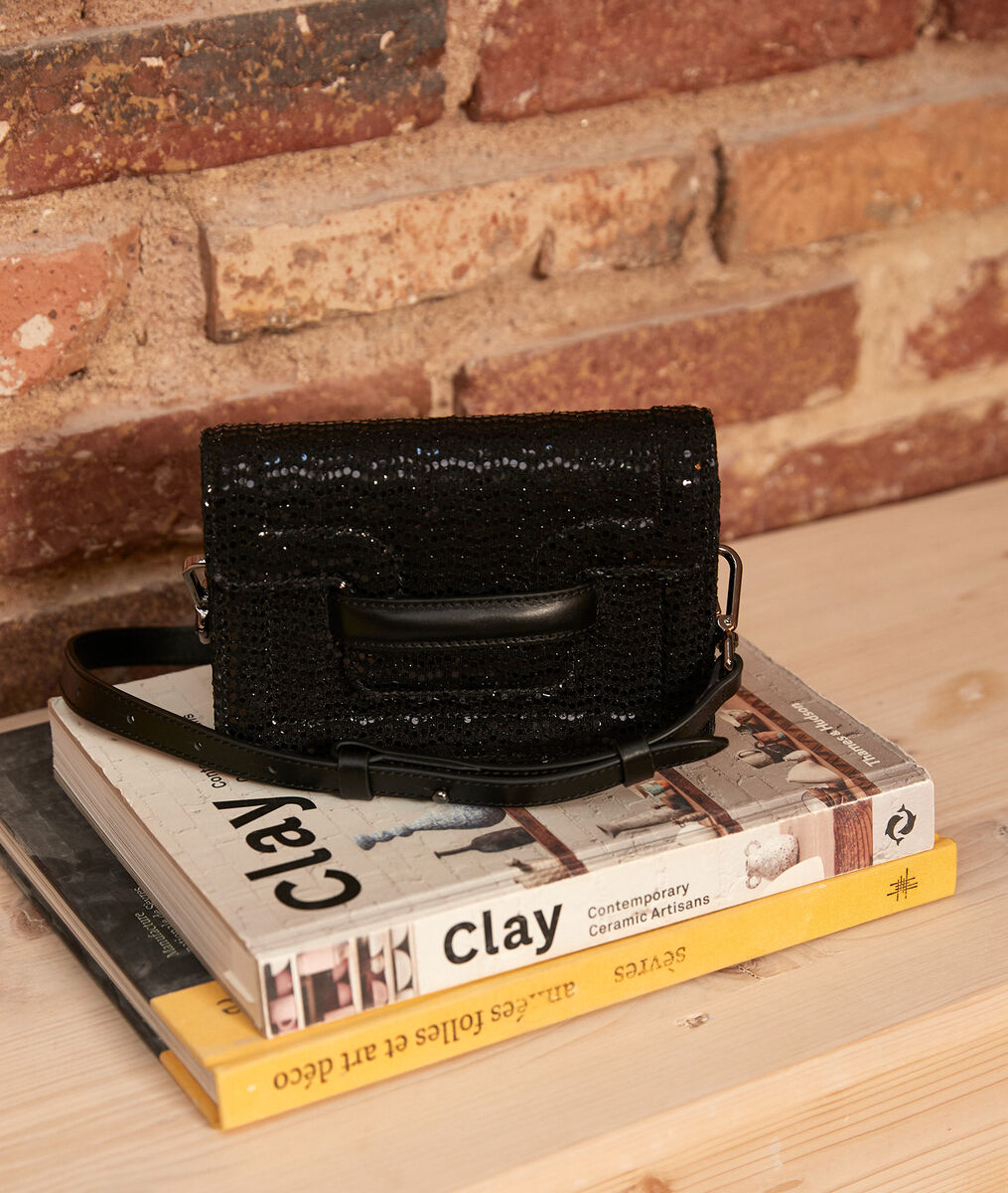 The 123 sparkly leather belt bag PhotoZ | 1-2-3