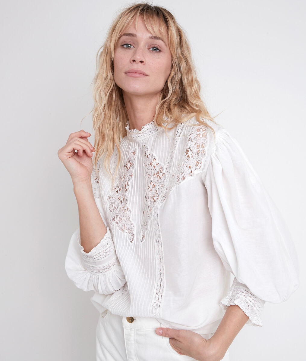 TEMINI lace blouse PhotoZ | 1-2-3