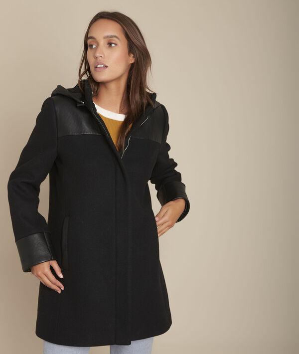 Princess black wool blend coat PhotoZ | 1-2-3
