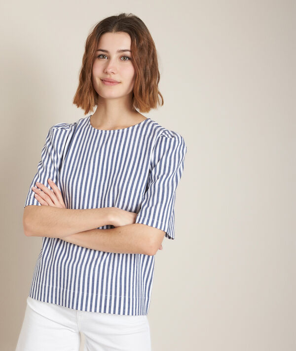 Enora striped blouse PhotoZ | 1-2-3