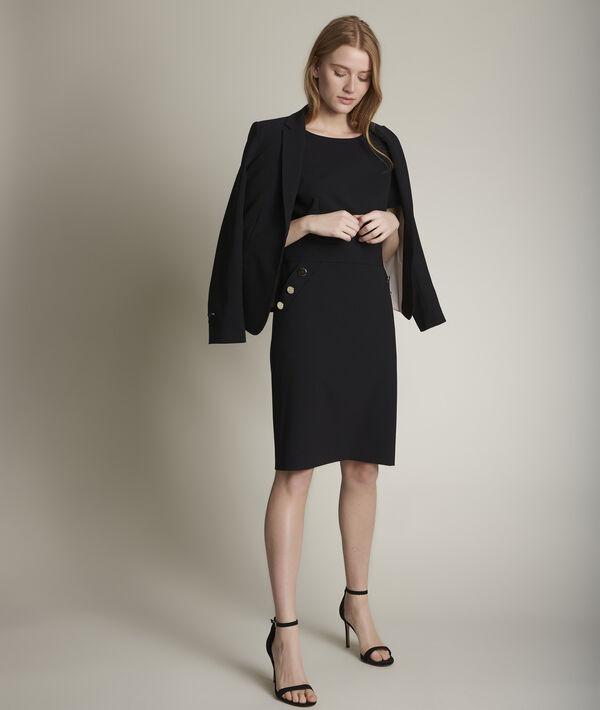 Capucine microfibre dress PhotoZ | 1-2-3