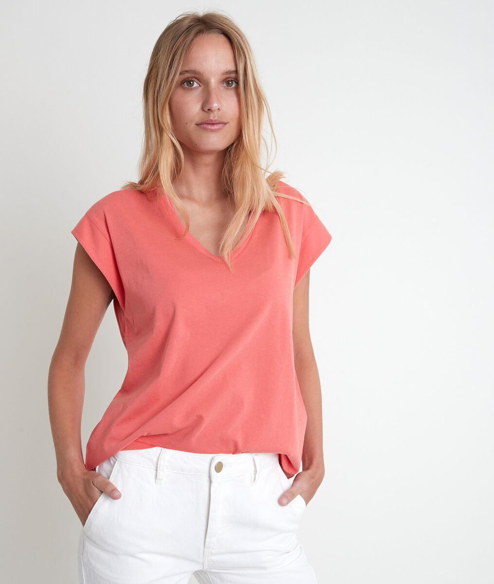 Ideal guava organic cotton T-shirt PhotoZ | 1-2-3