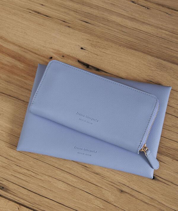 Leman sky blue wallet PhotoZ | 1-2-3