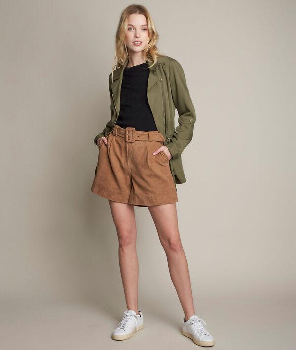 Imani suede shorts PhotoZ   1-2-3