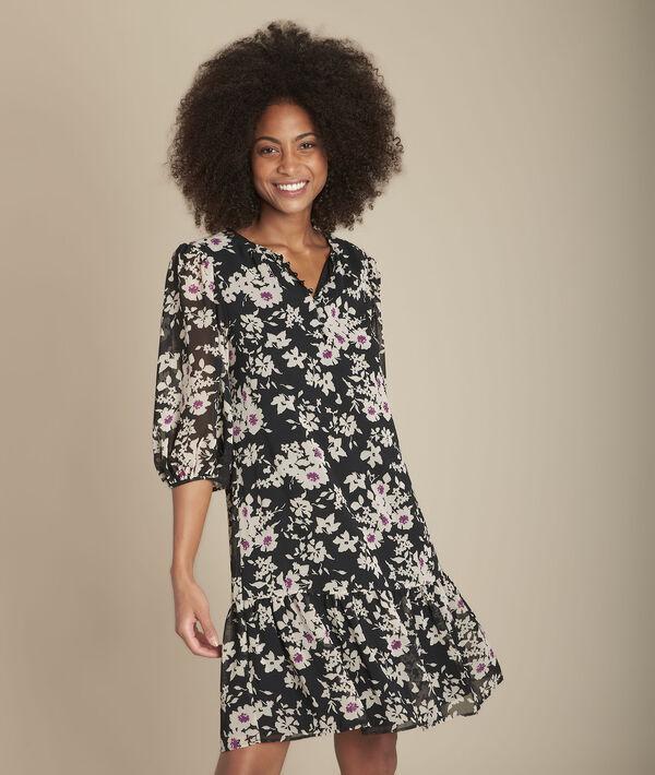 Izine floral print straight dress PhotoZ | 1-2-3