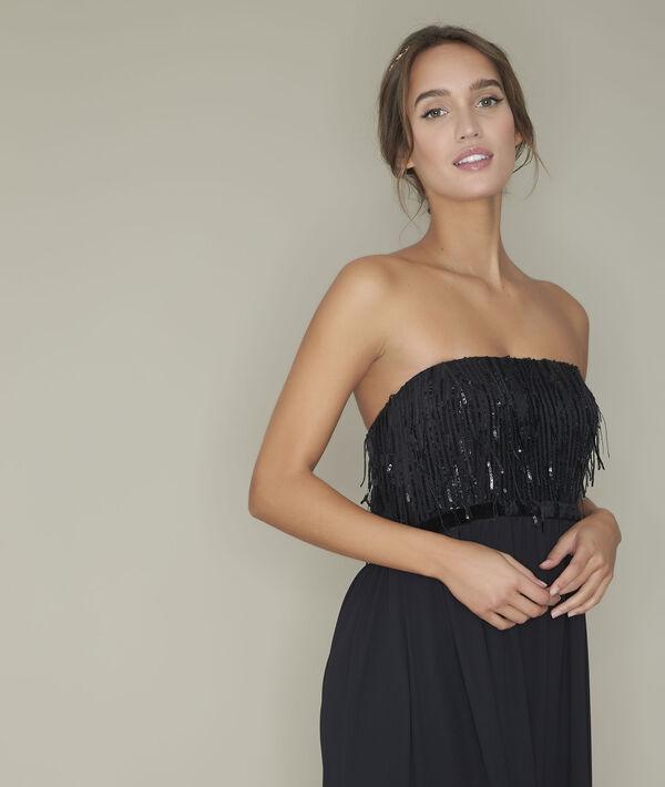 Resa pearl bustier dress PhotoZ | 1-2-3
