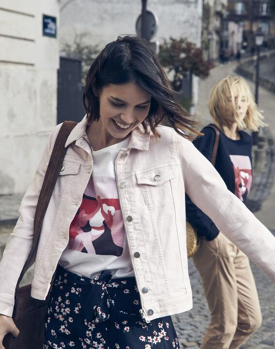 Women's Day Mujer Ecru T-shirt PhotoZ   1-2-3