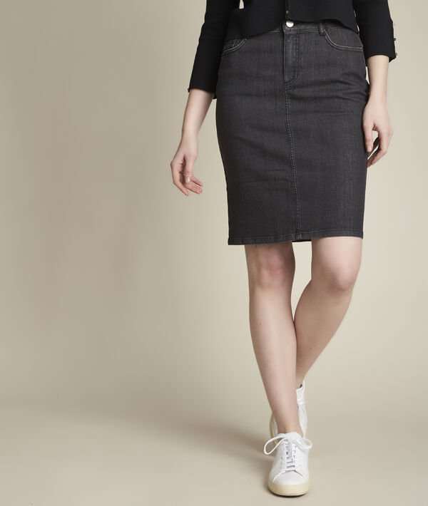 Blandine denim skirt PhotoZ | 1-2-3